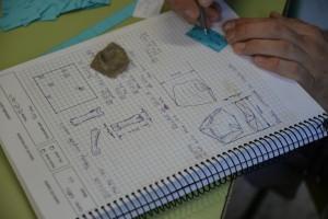 Diario de excavación en el que se registran todos los datos.