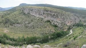 Vista de Cueva Negra desde