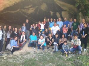 En 2013 numerosos visitantes acudieron a Cueva Negra durante el