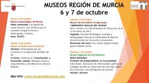 aCTIVIDADES EN LOS MUSEOS 6 Y 7 OCTUBRE