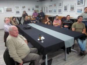 El público asistente escuchó atentamente las explicaciones de Francisco Ramos