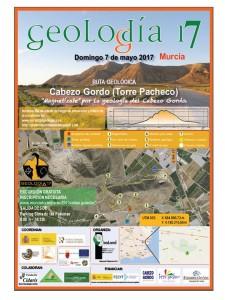 CARTEL GEOLODÍA MURCIA 2017