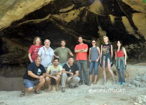 Equipo de excavación Cueva Negra 2017
